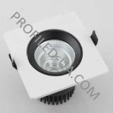 Встраиваемый потолочный светильник LED 9,5Вт